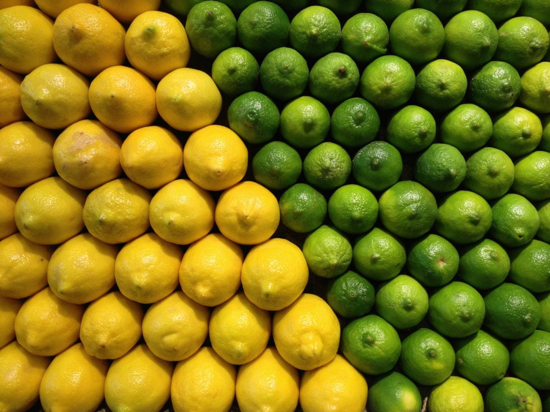 Lemon And Lime Kitchen Decor