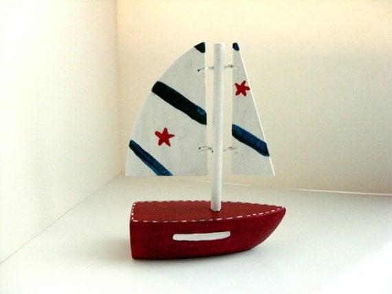 Sailboat Christmas Ornament