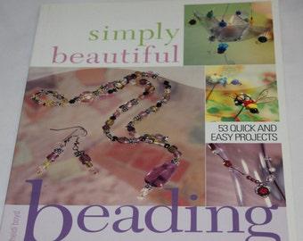 Instructional Simply Beautiful Beading Book