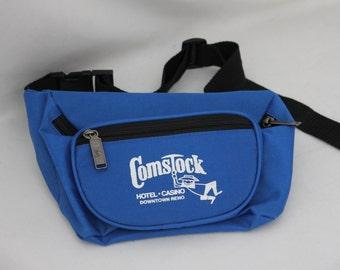 Vintage Comstock Reno Blue Fanny Pack