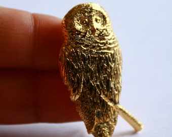 GOLD //// plated Owl Pin