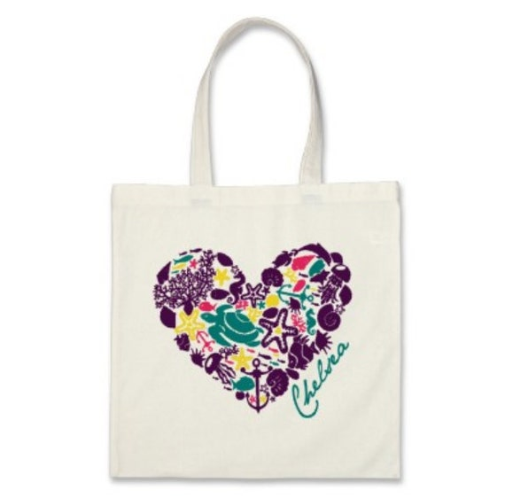 Beach Gift Or Wedding Welcome Tote Bag By Baggedandloaded On Etsy