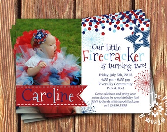 Fourth of July Party Invitations