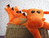 Dragon STUFFED ANIMAL Sewing Pattern - Digital Download