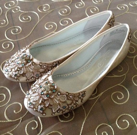 Bridal Shoes Garden Wedding