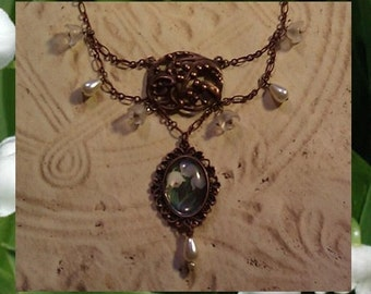 Deluxe Lily of the Valley Necklace