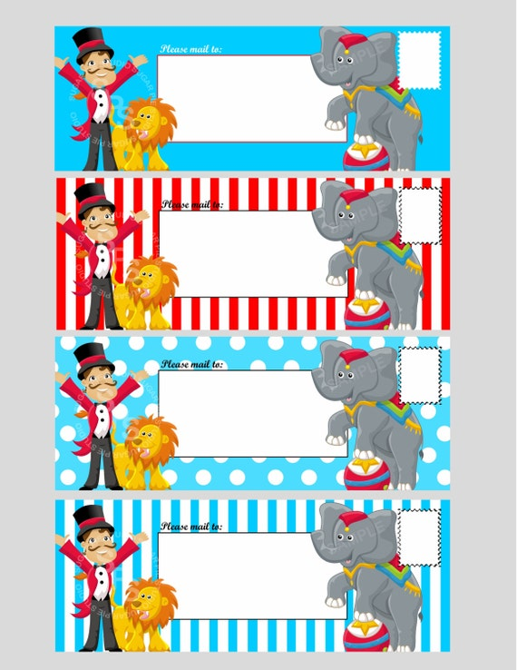 Circus Theme Invitation Templates is best invitations example