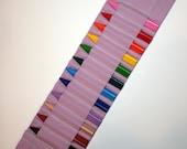 ECO crayon ammo belt for kids -- organic purple