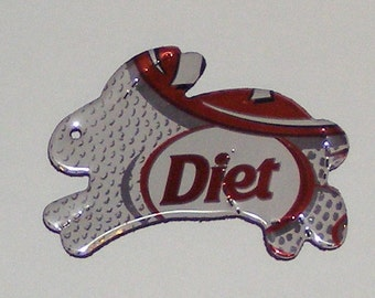Bunny Magnet - Diet Dr. Pepper Soda Can