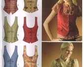 Simplicity 4079 Misses Vest, Size Variations, Sewing Pattern,