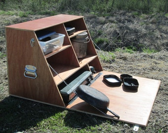 Camp Kitchen - Camping Cupboard - Chuck Box