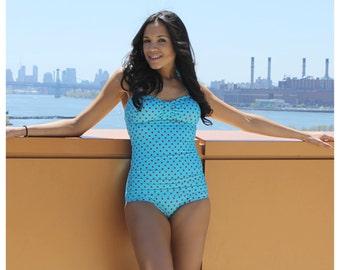 Marilyn Retro Polka Dots Swimsuit
