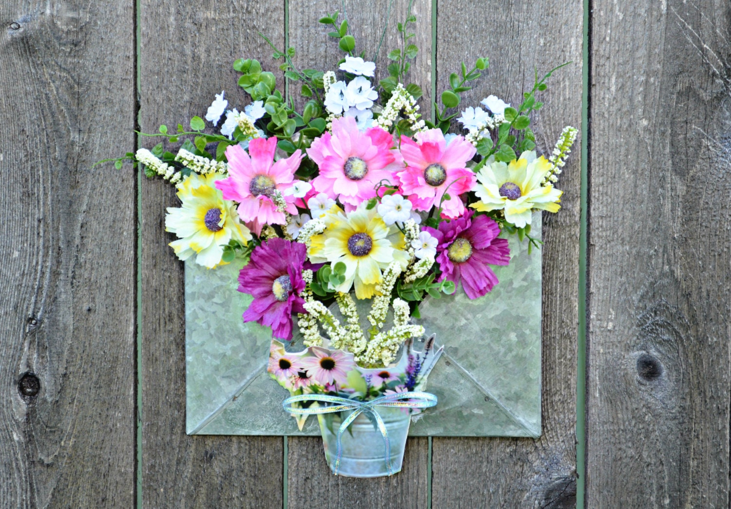 Floral Arrangement Home Decor Wall Decor By