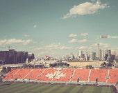 Toronto Photography, Toronto Photo, Toronto Fine Art, Bmo Stadium, Toronto Skyline, Cn Tower Toronto, Toronto Soccer, Red And White