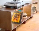 Atrexs Record Cabinet Credenza
