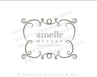 EXCLUSIVE OOAK Premade Photography Logo and Watermark, Whimsy- Never Sold Again