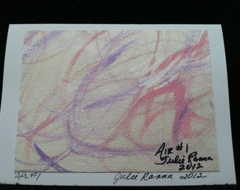 Abstract Painting (Air) Note Cards