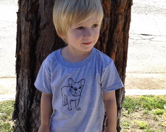 French bulldog Childs Organic T-Shirt