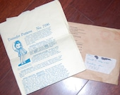 Vintage Alice Brooks Doll Pattern 7196, UNCUT,  Stuffed doll and outfit, super cute,