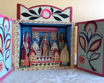 Shrine Peruvian Guadalupe Rare Detail 秘魯葡萄酒靖國神社瓜達盧佩稀土詳細 Bìlǔ pútáojiǔ jìng guó shénshè guā dá lú pèi xītǔ xiángxì