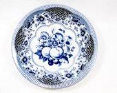 vintage bowl, vintage housewares, vintage tin, metal Daher bowl