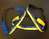 BOSTON STRONG Ribbon and Elastic Headband
