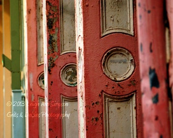 In a row - 8x10 Fine Art Photography - New Orleans Street