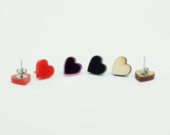 Heart Earring - Laser Cut - Handmade - laser cut jewelry