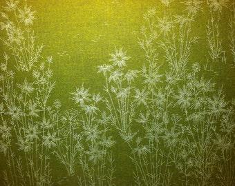 Vintage cloth print
