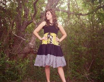 Brooklyn's Women's Tiered Sundress PDF Sewing Pattern sizes XS-XL