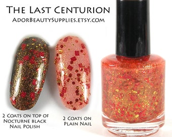 The Last Centurion Large 16ml Vegan Non-Toxic - Doctor Who Nail Polish