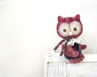 PATTERN Download to create Teddy like Artist Teddy Owl 6 inch