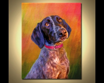 Dog Portrait - your pet, my crazy RISK FREE portrait offer