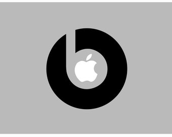 Beats by Dr. Dre decal: For Laptop, Car etc..
