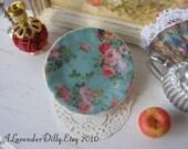 Vintage Elegance Dollhouse Plate