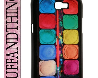 Samsung Galaxy Note II Artist Watercolor Paint Set Hard Case Cover Galaxy Note 2