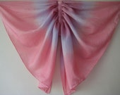 Silk Butterfly Wings, Pink and Purple tones Kids Small Fairy Wings Costume