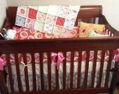 "Custom Boutique Crib Bedding with Dena Design's ""Deliliah"""