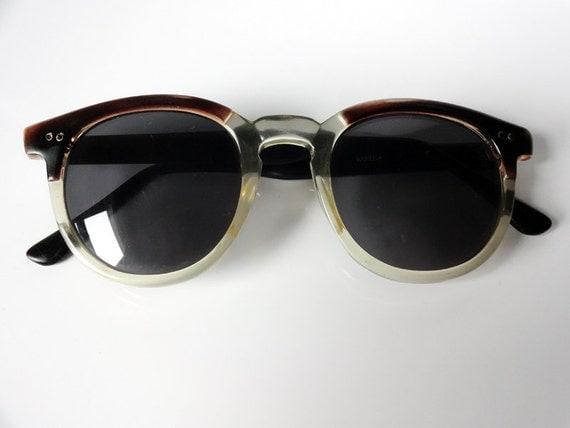 SALE Original Vintage Horn Rim Sunglasses 50s style 60's