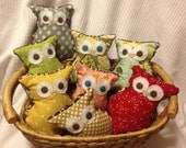 Parliament of Owls Woodland Party Favors (8)