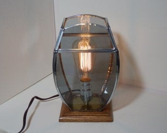 Stained Glass Lamp Edison Light