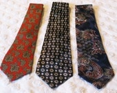 Don Loper Beverly Hills Polyester Ties