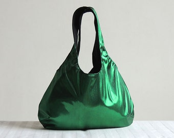 Green hobo bag | Etsy