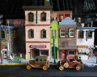 2nd Street Diorama town street