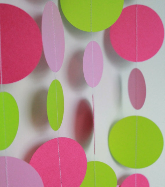 Birthday Party Decorations . Paper Garland Party Decoration . 5 Feet ...