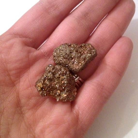 White Raw Gold Nuggets – BK3