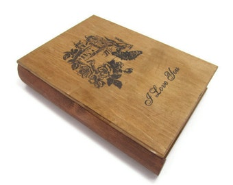 I Love You Book Box Drawer