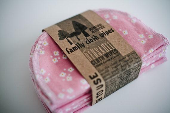 Eco-Friendly   Cloth Wipes - 10 Print Set - Eco Friendly Reusable Cloth Wipes