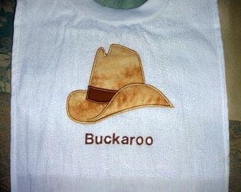Buckaroo Towel Bib