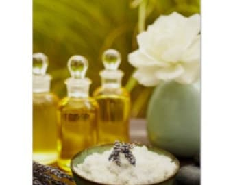 Make Your Own Special Sea Salt Scrubs For Him and Her - Perfect Gifts - 2 Scentsational Recipes - INSTANT DOWNLOAD